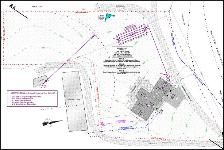 Permis de construire la validation administrative de votre projet - Exemple plan de masse ...